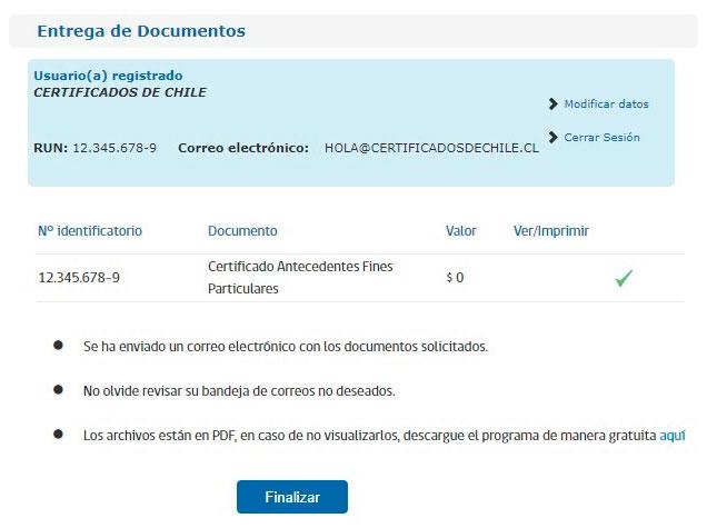 Obtener certificado de antecedentes paso 4